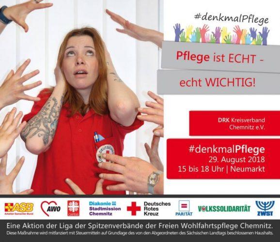 Anzeige DRK #denkmalPflege 29.08.2018