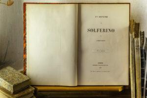 Buchtitel - Eine Erinnerung an Solferino